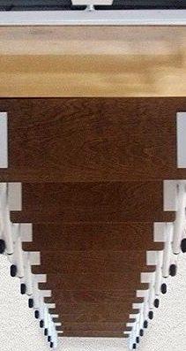escalera escamoteable,escalera plegable,escalera para espacios reducidos,escalera de madera, escaleras de madera