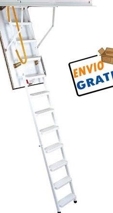 escalera con envio gratis, escalera para techo,escalera para altillo,escalera escamoteable
